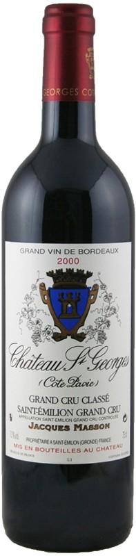 0d4cf4691bb French Red Wine - Château St. Georges Côte Pavie Saint-Émilion Grand ...